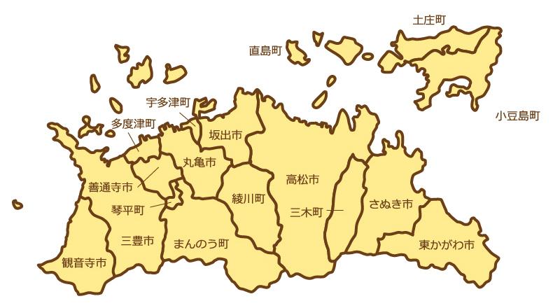 香川県全域マップ(スマホ用)